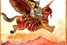 #Orlando furioso #Ludovico Ariosto / L'Orlando furioso nelle illustrazioni
