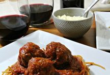 Cooking with Wine / If you like drinking wine, why not cook with it? Red wine, white wine, even fruit wine...no discrimination here! Use a little wine in the recipe and drink the rest :)