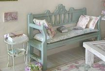 Brocante Style / The brocante furniture and decorations as in my store