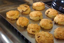 Serious Scone-Making / I come from a long line of devoted scone makers and have perfected a recipe from my Great Grandmother Elfie McCullough...and love to learn about other recipes as well.