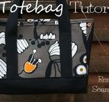 DIY Purses and handbags - Tutorials, tips, tricks and patterns / how to make zippered purses - stitching your own handbag