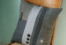 Stitched & Stuffed - Bolsters, cushions & pillows / Decorating with, and making, bolsters and cushions