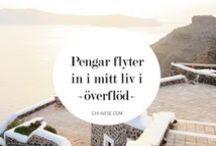 Positiva affirmationer (på svenska) / Positiva affirmationer för bättre självförtroende, kärlek, pengar, framgång, hälsa eller överflöd.