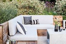 Beautiful Outdoor Spa Space / Outdoor lounging and interchangeable treatment areas.