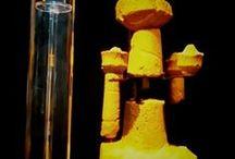 #NottiColorate 7 agosto 2014 / apertura straordinaria della mostra di #MontePrama in arancione con la visita guidata di prof. Giovanni Ugas