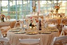 Reception Tables / Reception table style and decor