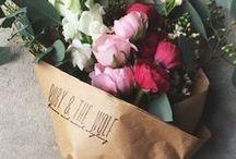 love flowers •• / fleurs, bouquet pour un quotidien + doux!
