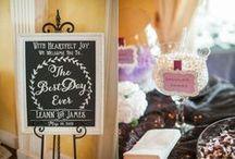 Wedding Decor / Many creative decor ideas by vendors or DIY