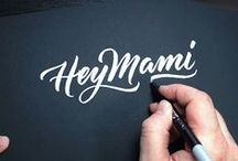 Hand Lettering Tutorials / Hand lettering tutorials + animations to watch and learn