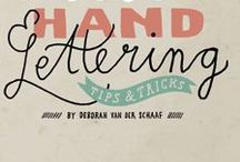 Hand Lettering Books / Hand lettering and Calligraphy books
