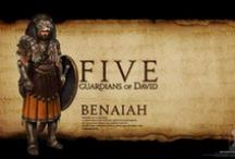 Benaiah / David's toughest warrior.