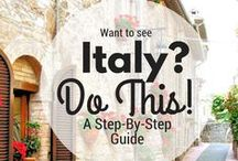 Travel Destinations and Tips / Europe, especially Italy are on my bucket list. Let's make this happen.