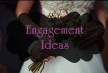 Engagement Ideas / Ideas to celebrate saying yes!!