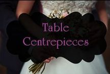 Table Centrepieces / Inspiration for stunning wedding table centrepieces. www.bridal101.co.nz