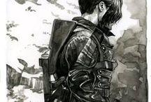 Bucky Barnes/Sebastian Stan