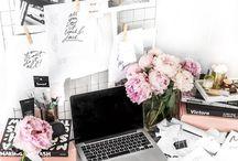 Florals & pastel pinks