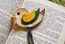 Bookmarks by Fanciulla Accessori ( 100% Handmade )