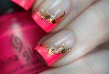 Nehtíky / =) nails, nails desing, nails tutorial, nail art (=