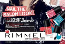 Beauty - Rimmel London baby / One of my favourite brands. Looks, history, swatches and reviews.