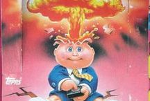 Garbage Pail Kids / Garbage pail kids cards from the 80's