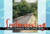 Swimming with Gandhi and Einstein / Journey through an exotic land as you journey through the heart of what it means to be you. In this life-enhancing book Gandhi and Einstein's greatest ideas come to life. Plus they have some new personal growth lessons for you.