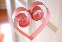 Valentine's Crafts - found by Heaven 'fits overs' / Heart, love crafts
