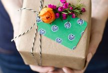 Wrapping / Inspiration for wrapping beautiful gifts