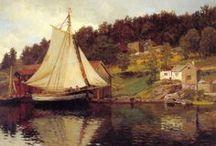 Drawings, oil paintings, prints ...