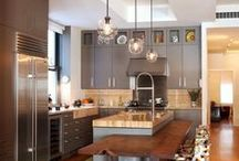 Kitchen Lighting / Get inspired and add some quality lighting to your kitchen today. We love these fantastic ideas!