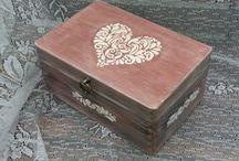 Decoupage boxes - Lenka O. / Lenka O. www.kouzlodomova2.webnode.cz