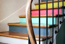 Escalier / Escalier peint