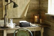 """-""""A room of one's own""""- (studio-atelier)"""