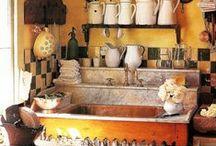 """""""la cucina color zafferano"""" (Cucina/Kitchen)"""
