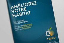 Réseau de franchises A•BRICO / Refonte gloable de l'identité visuelle du réseau de franchises A•BRICO