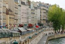 Paris & France places in my books