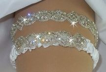 wedding garter... giarrettiere