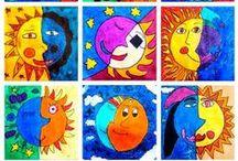 Art for Kids / τέχνη από τα παιδιά, κατασκευές για παιδιά σχολικής ηλικίας