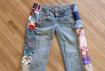 Denim my Love / Recycle jeans: Crafts, Bags, Jewelry with Jean.