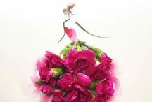 Fashion Flower Art