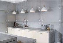 Concrete panels and furniture / Panele i meble z betonu / Concrete panels and furniture