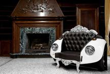 Furnishing Designes / Furniture antiques tables sofas chairs tables unusual furniture  / by Danielle Susman