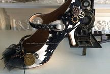 Steampunk Shoes / Steampunk shoes, steampunk boots and generally something a little bit different
