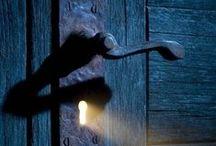 Key,padlock,handle,knob....