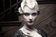 Dark Romance / A forbidden romance embellished in lace, deep merlot, and gunmetal tones...