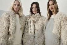 Winter White / monochromatic looks with just the right amount of flare