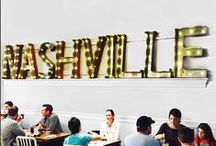 Nashville, Tennessee / We love our city!