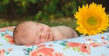 Adorable Newborn Photos / Who doesn't love babies! Let us inspire your dream newborn photos with these cuties! From family photos with your newborn, to beautifully posed sleeping baby newborn photos.