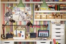 Craft room/Office space / by Linda Patrick