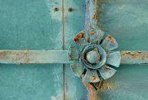 Aqua (and turquoise) / by Diane Duda