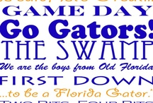 Florida Gators  / by Reba Bastian